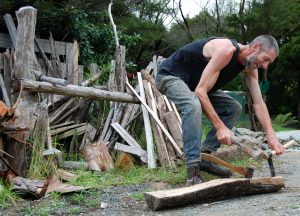First steps in Green Woodworking   Koanga Institute